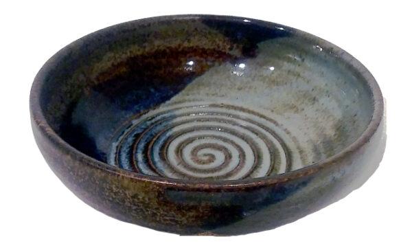 Shaving Lather Bowl - Southwestern Blue