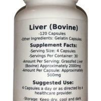 Grass Fed Beef Liver Capsules