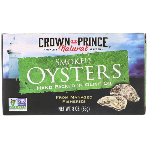 Crown Prince Natural Smoked Oysters